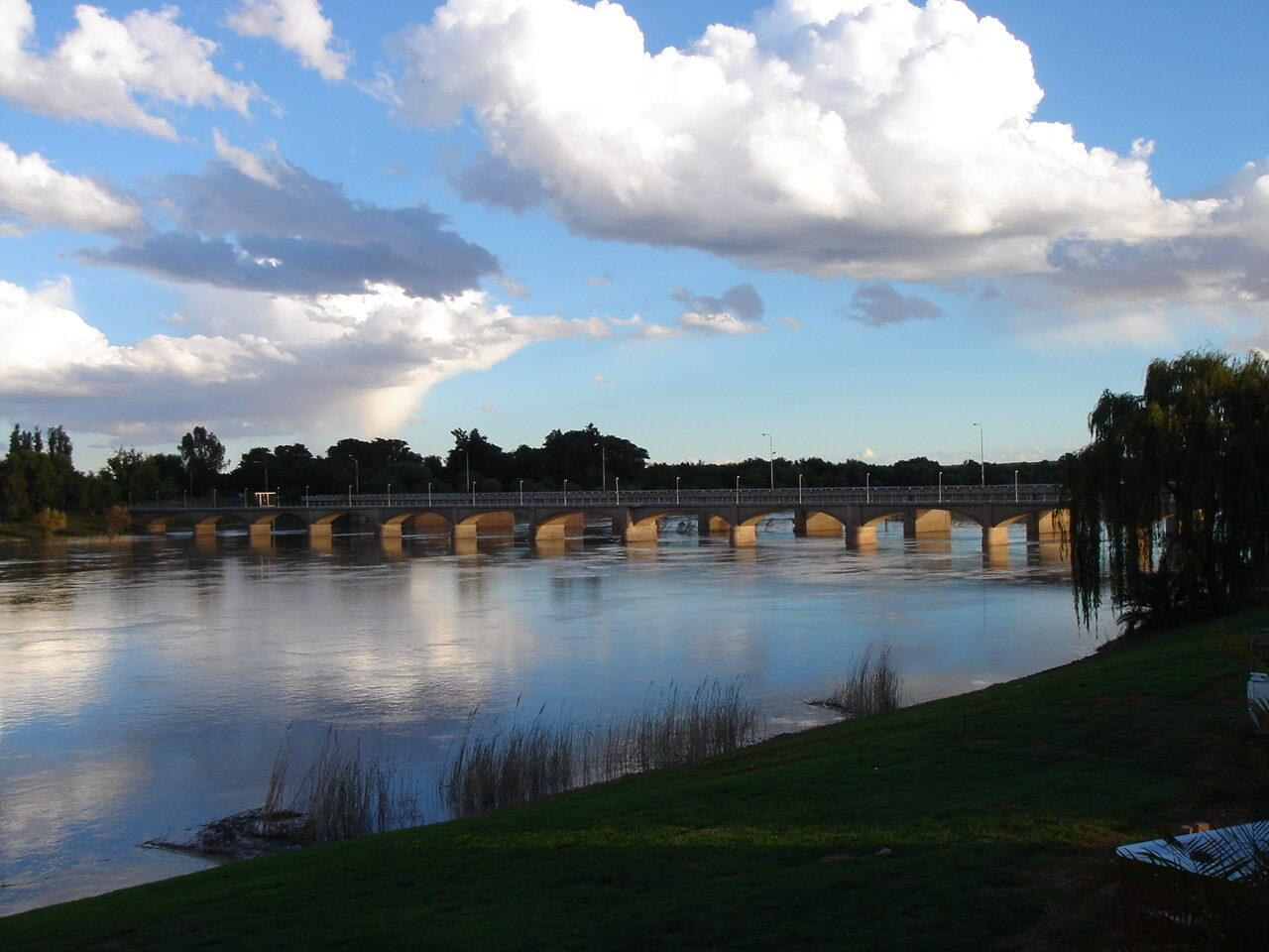 Upington on the banks of the Orange River